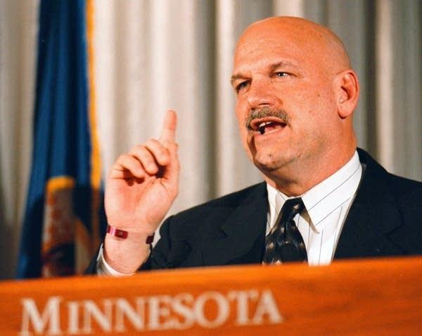 Minnesota Gov. Jesse Ventura