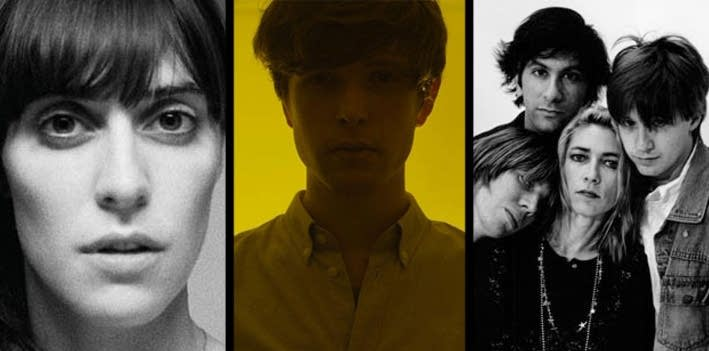 Feist, James Blake and Sonic Youth