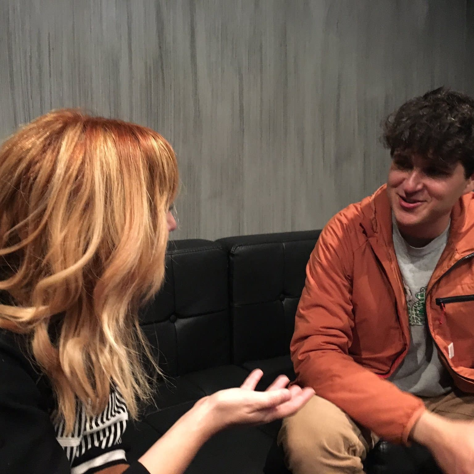 Jade talks with Vampire Weekend's Ezra Koenig