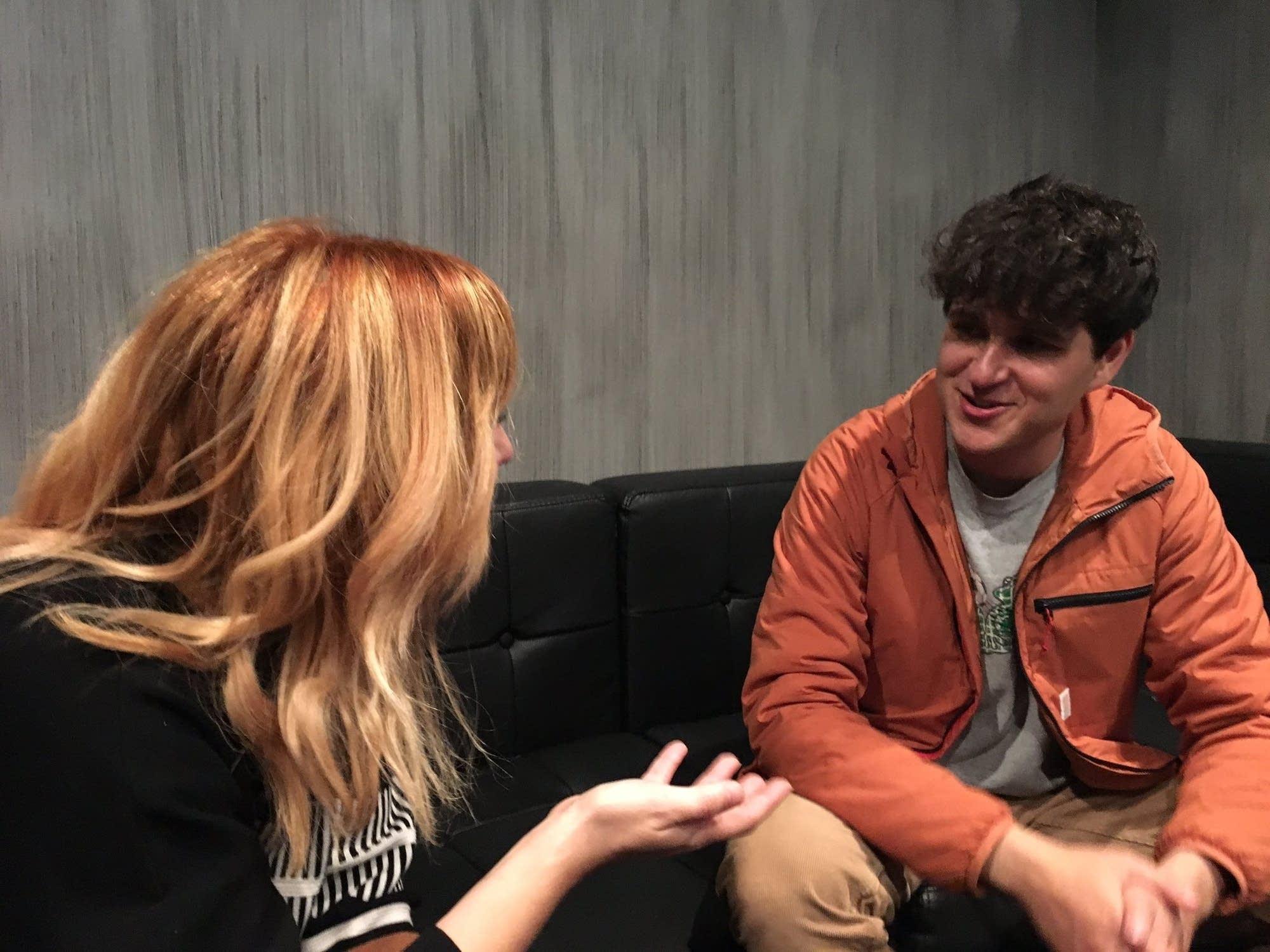 Jade talks with Vampire Weekend's Ezra Koenig