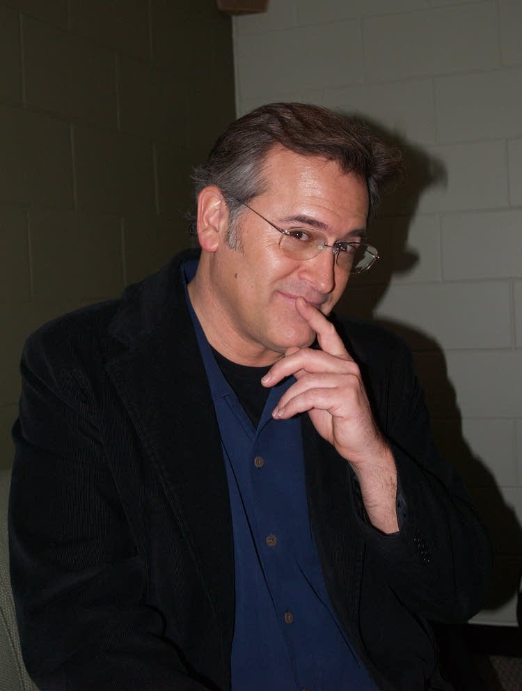 Bruce Campbell in coy mood