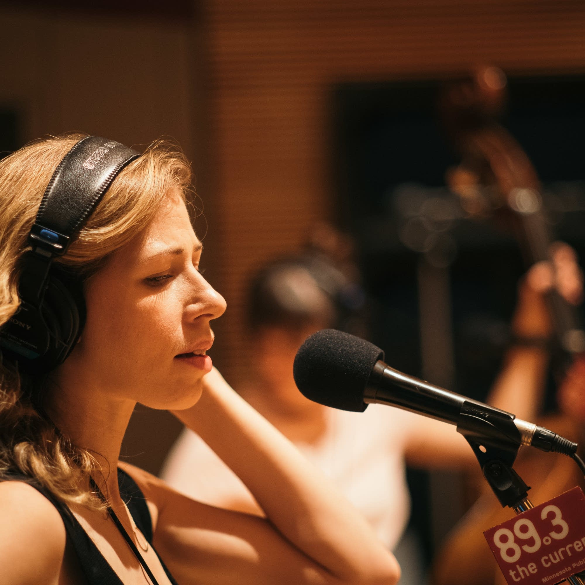 Lake Street Dive in The Current studio
