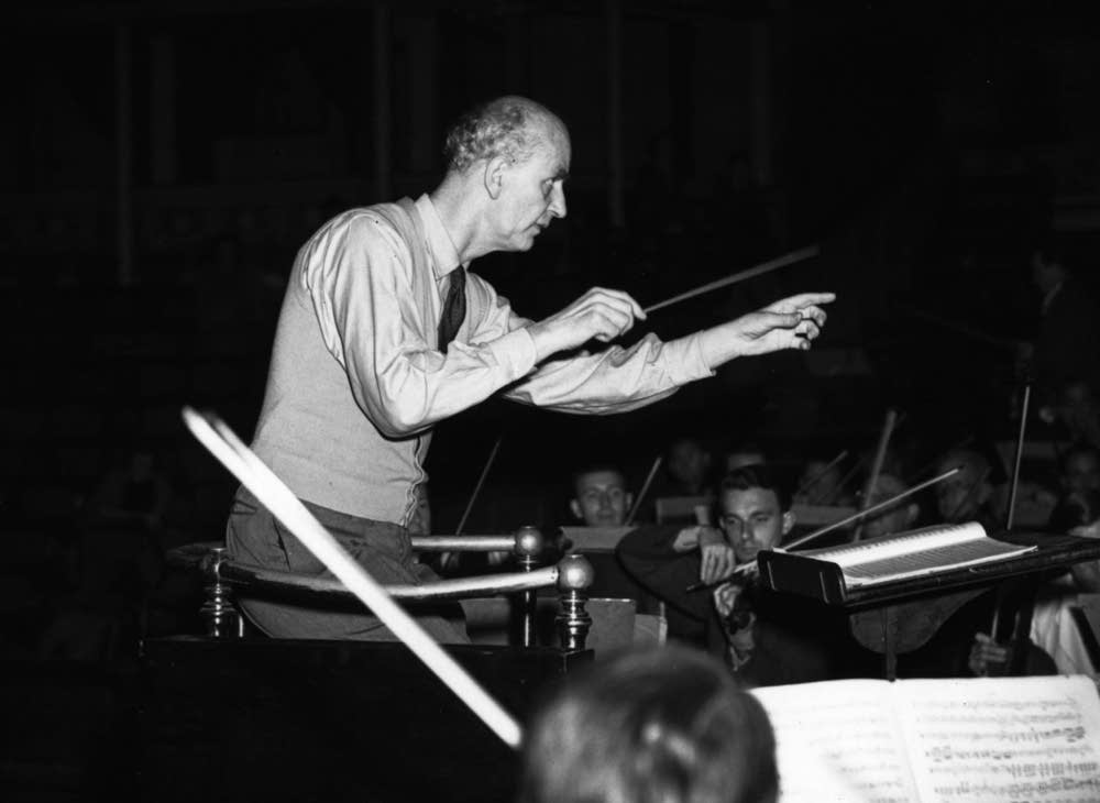 German conductor Wilhelm Furtwangler