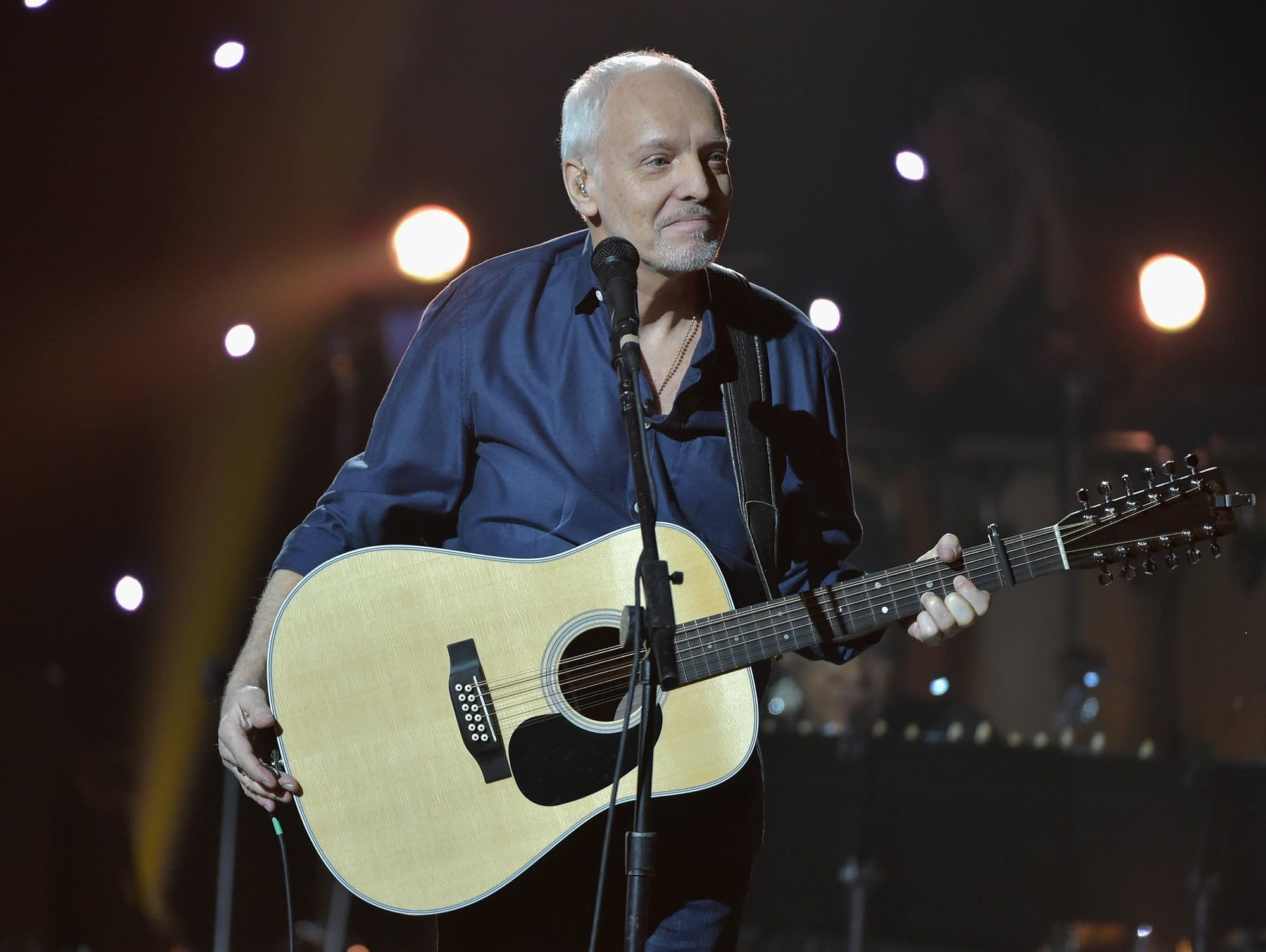 Peter Frampton performs at Madison Square Garden in 2015.