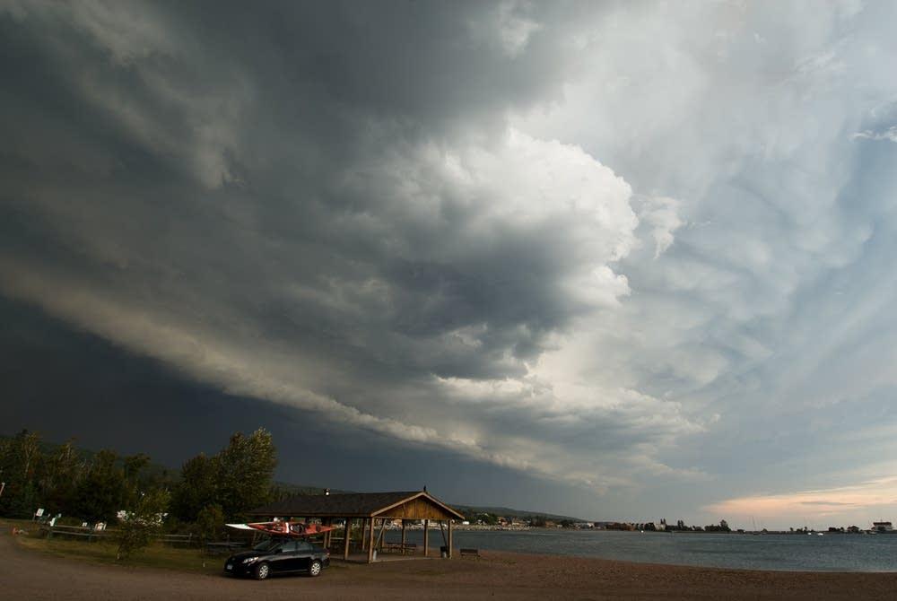 A storm front