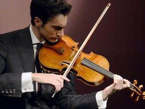 David Aaron Carpenter plays Stradivarius viola