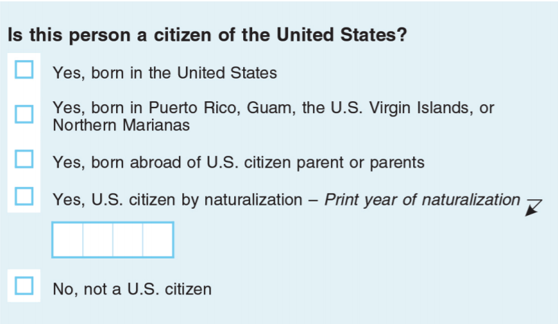 citizenship question 2020 census proposed