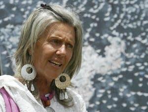 Renowned conservationist Kuki Gallman.