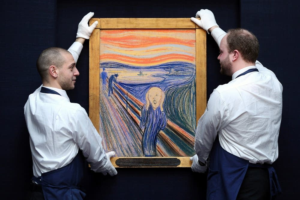 'The Scream' goes on display