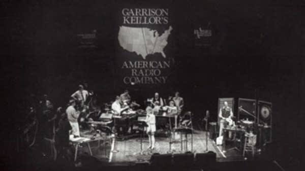 Judy Larson, Bill Hinkley, GK, Bob Douglas and Rudy Darling