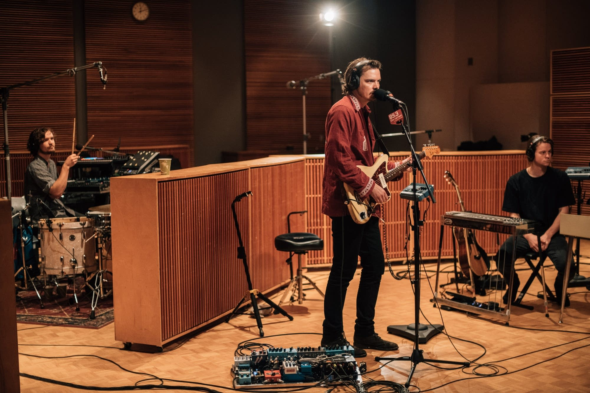 Half Moon Run perform in The Current studio