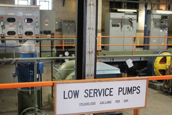 Low service pumps