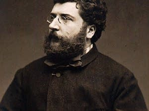Georges Bizet, photograph by Etienne Carjat, 1875