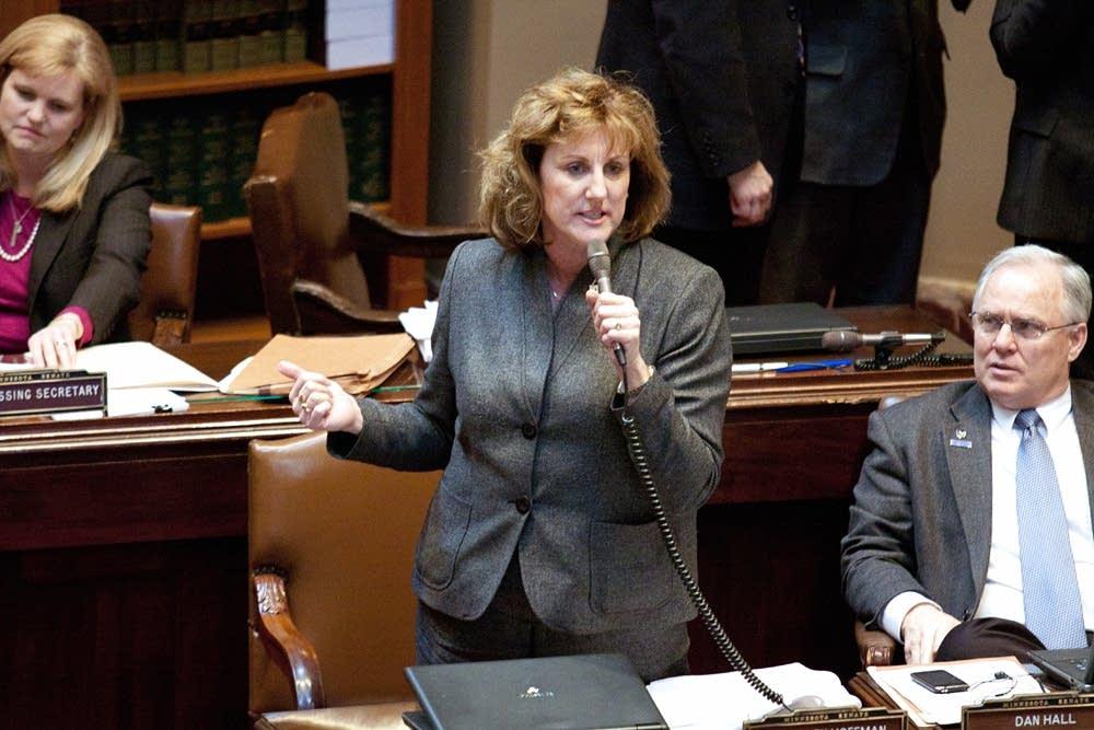 State Sen. Gretchen Hoffman, R-Vergas