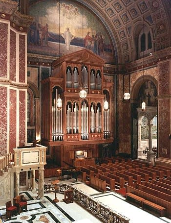 1995 Lively-Fulcher organ at Cathedral of Saint Matthew the Apostle,...