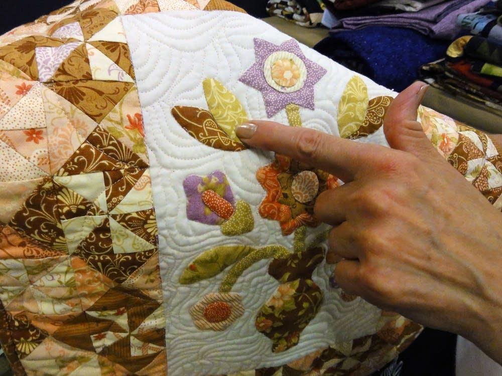 Quilt design detail