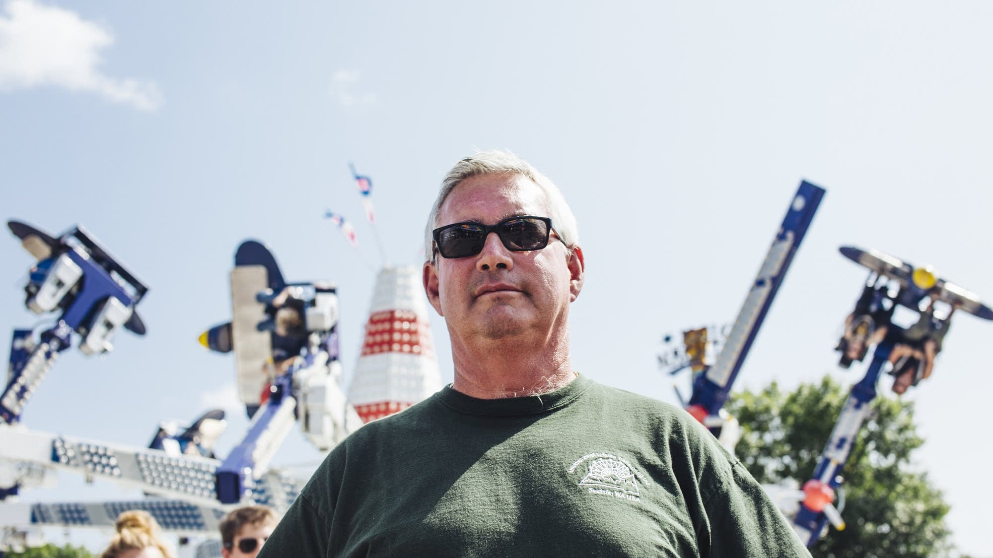 Joe Bixler is the Minnesota State Fair's chief ride inspector.