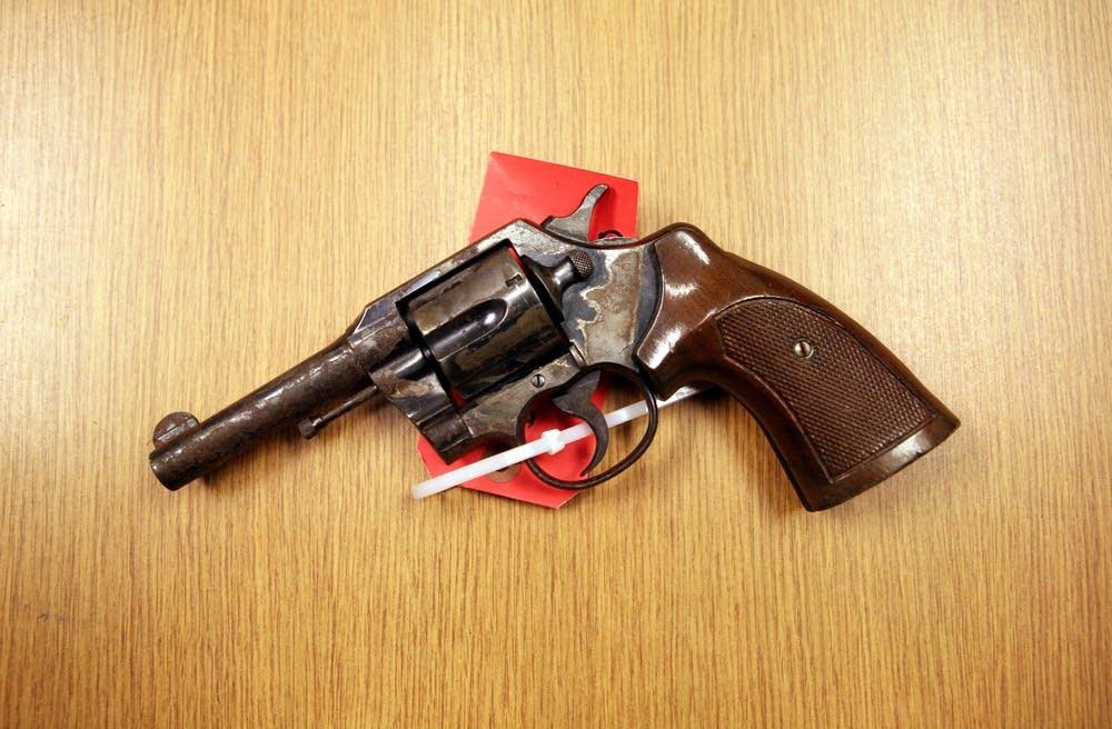Colt .38-caliber revolver