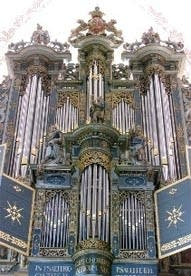 1997 Marcussen organ at St. Mary's Church, Elsinore, Denmark