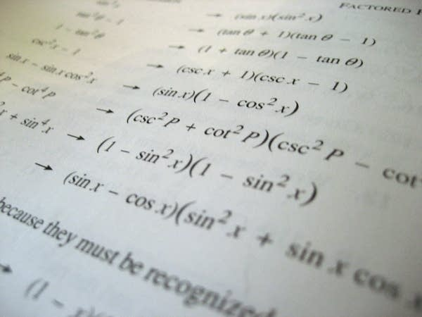 Is advanced math necessary?