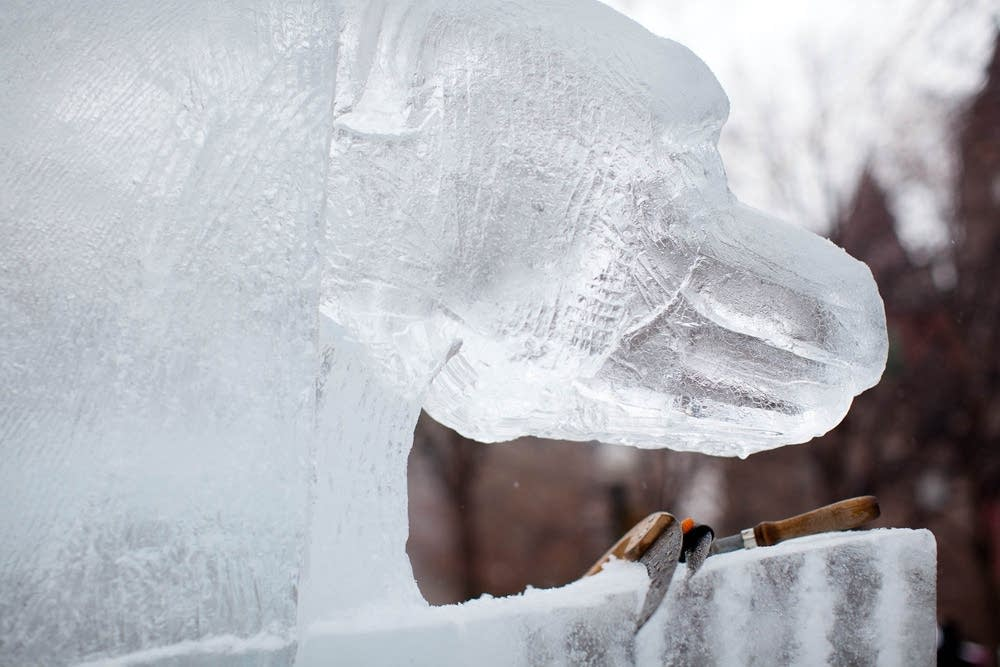 Winter Carnival ice sculptures