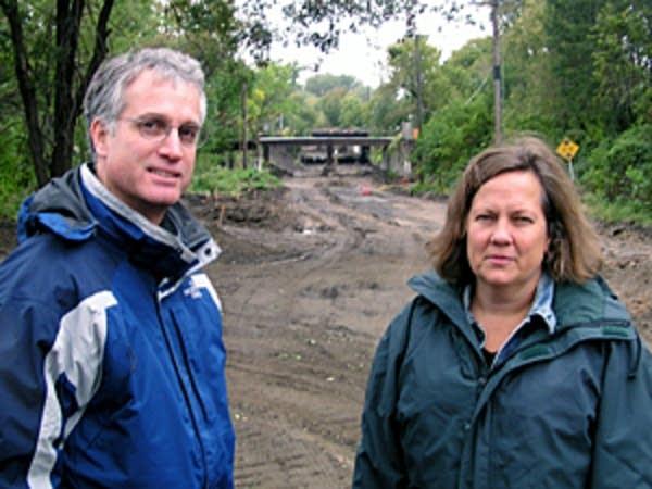 John Anfinson and Carol Carey.