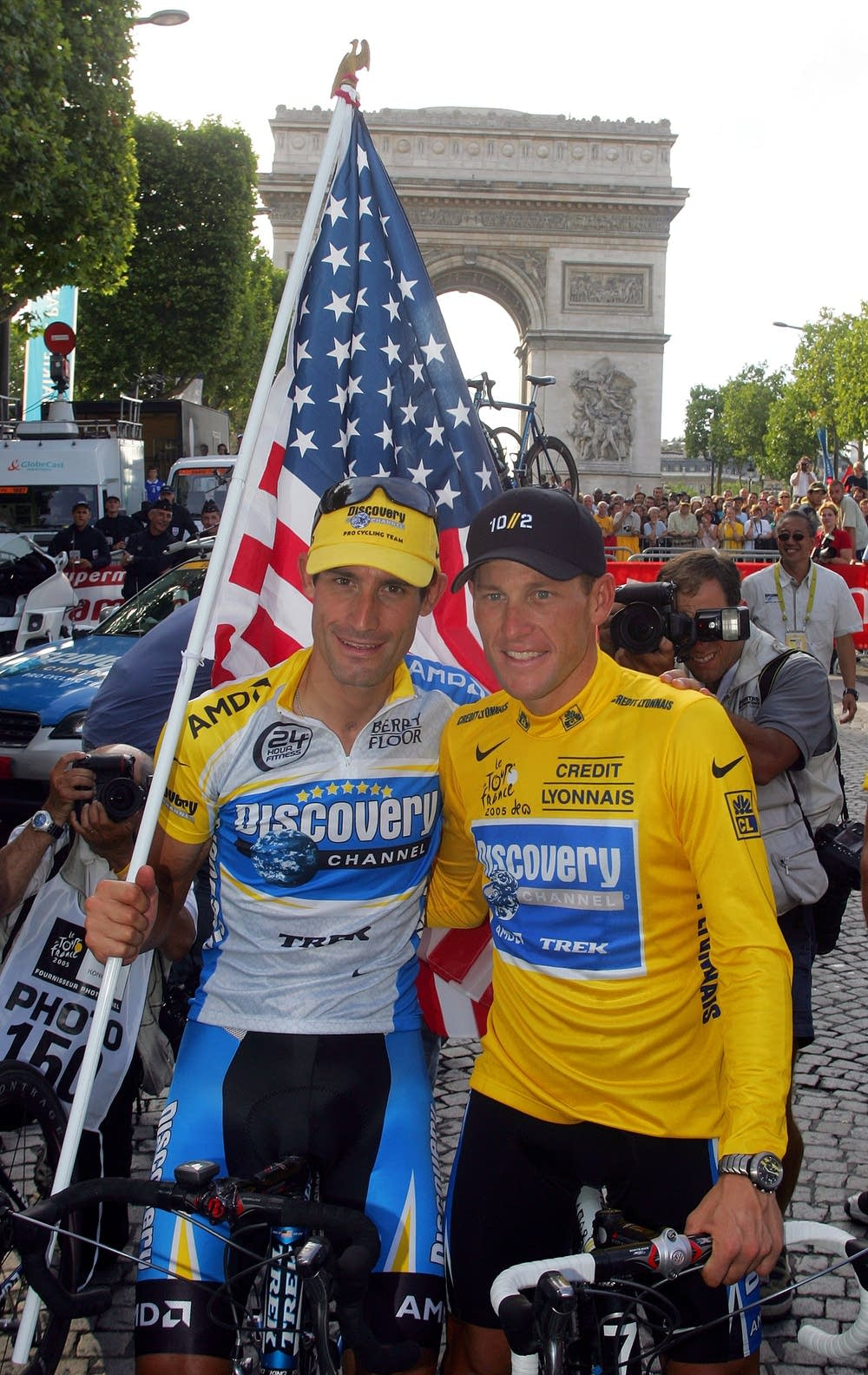 Hincapie and Armstrong