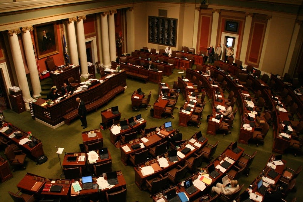 The Minnesota House chambers
