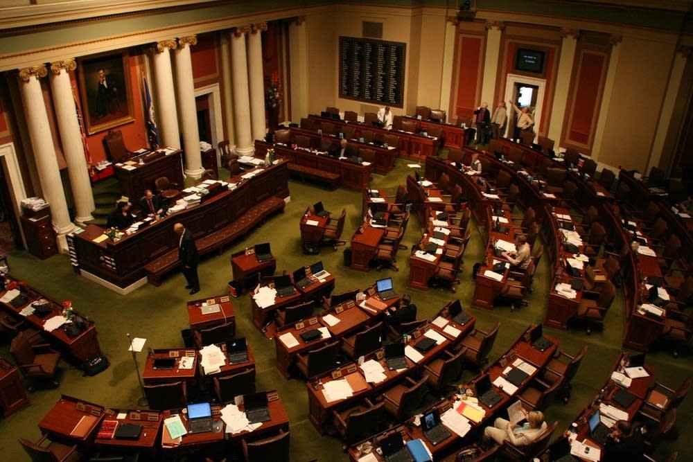The Minnesota House chambers
