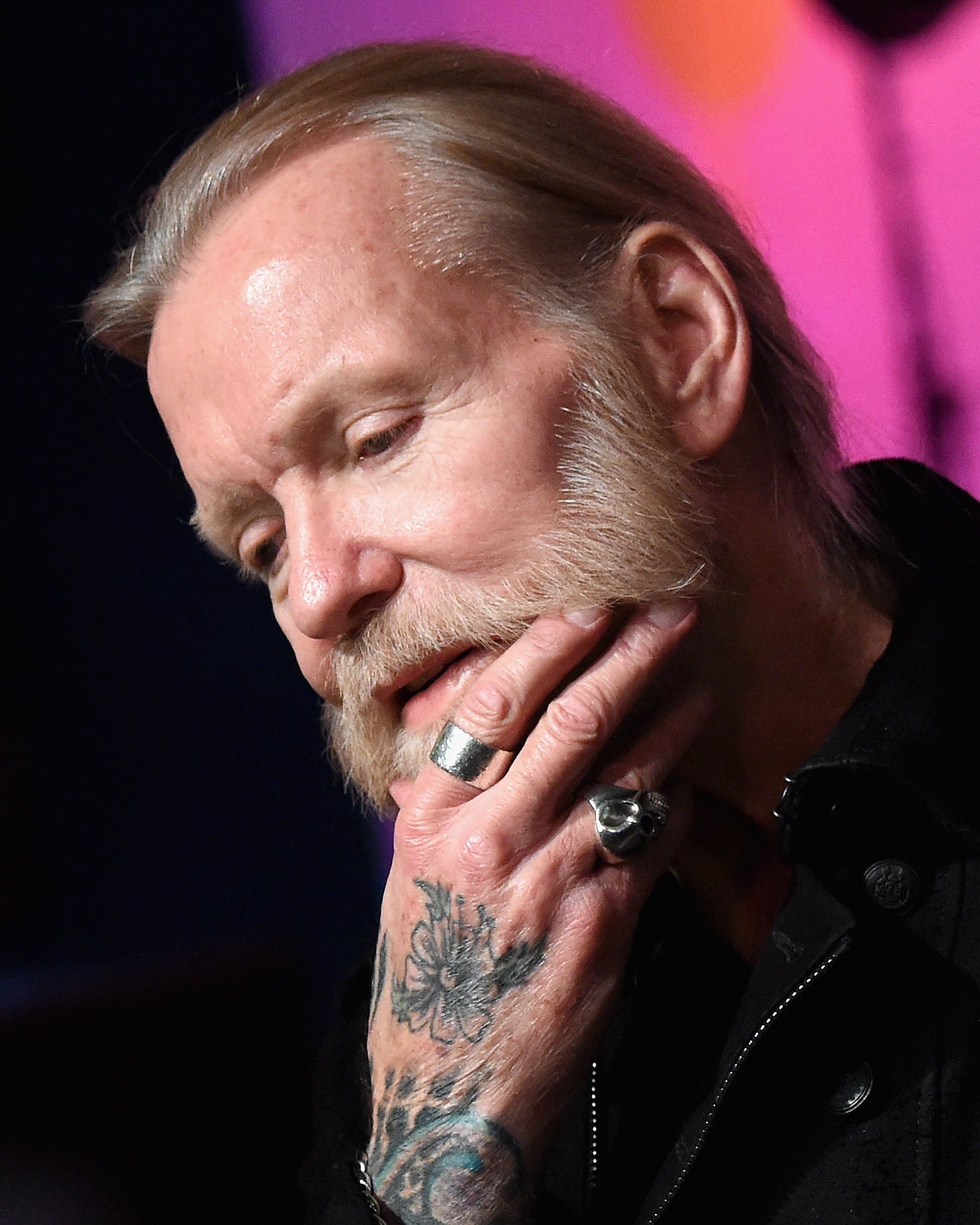 The 73-year old son of father (?) and mother(?) Gregg Allman in 2021 photo. Gregg Allman earned a  million dollar salary - leaving the net worth at  million in 2021