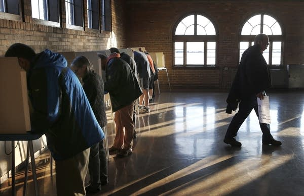 Wisconsin voters cast their ballots.
