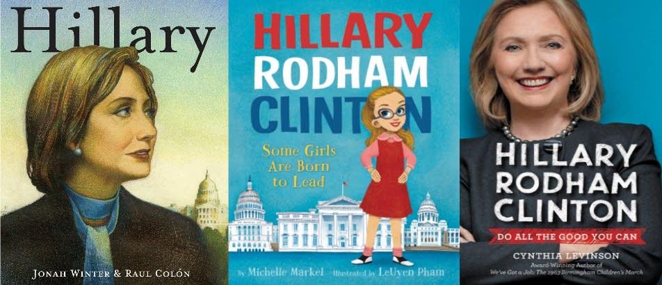 Children's books on Hillary Clinton