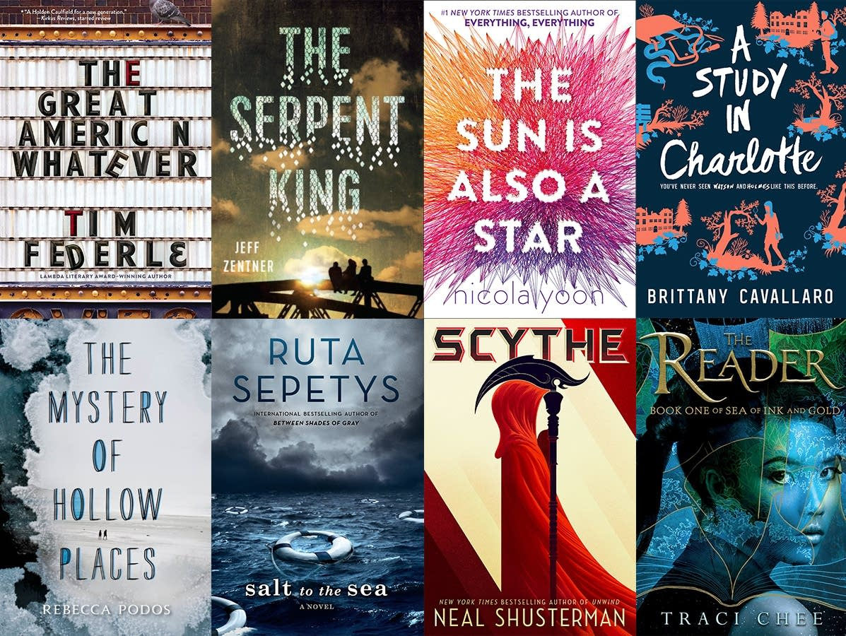 Best Book Covers Ya : Best books of to give and receive young adult