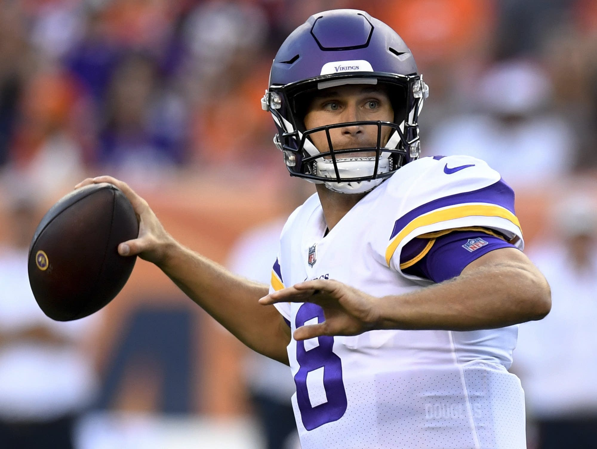 During the off-season, a lot of attention has been paid to the state of the Minnesota Vikings offensive line. As injuries took their toll towards the end of last season, the Vikes were forced into.