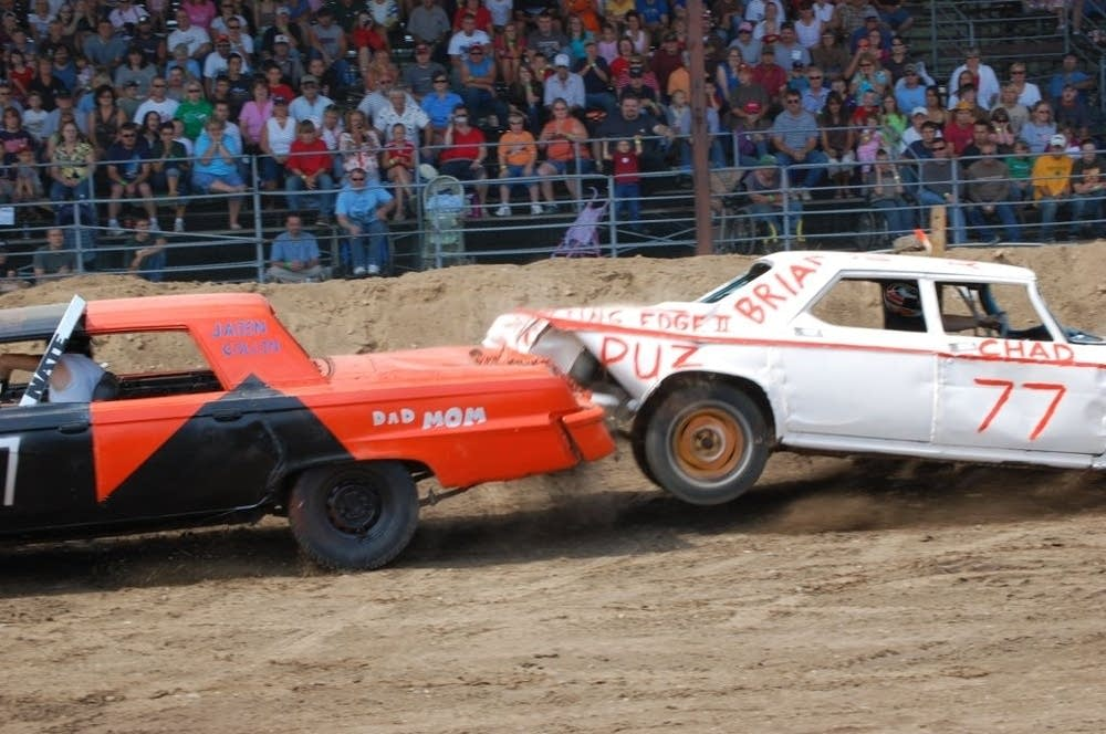 Clearwater County demo derby
