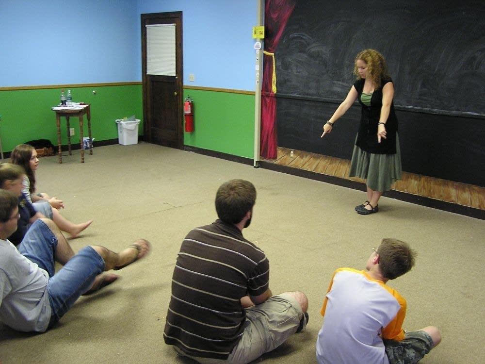 Nikki Bettcher Erickson with class