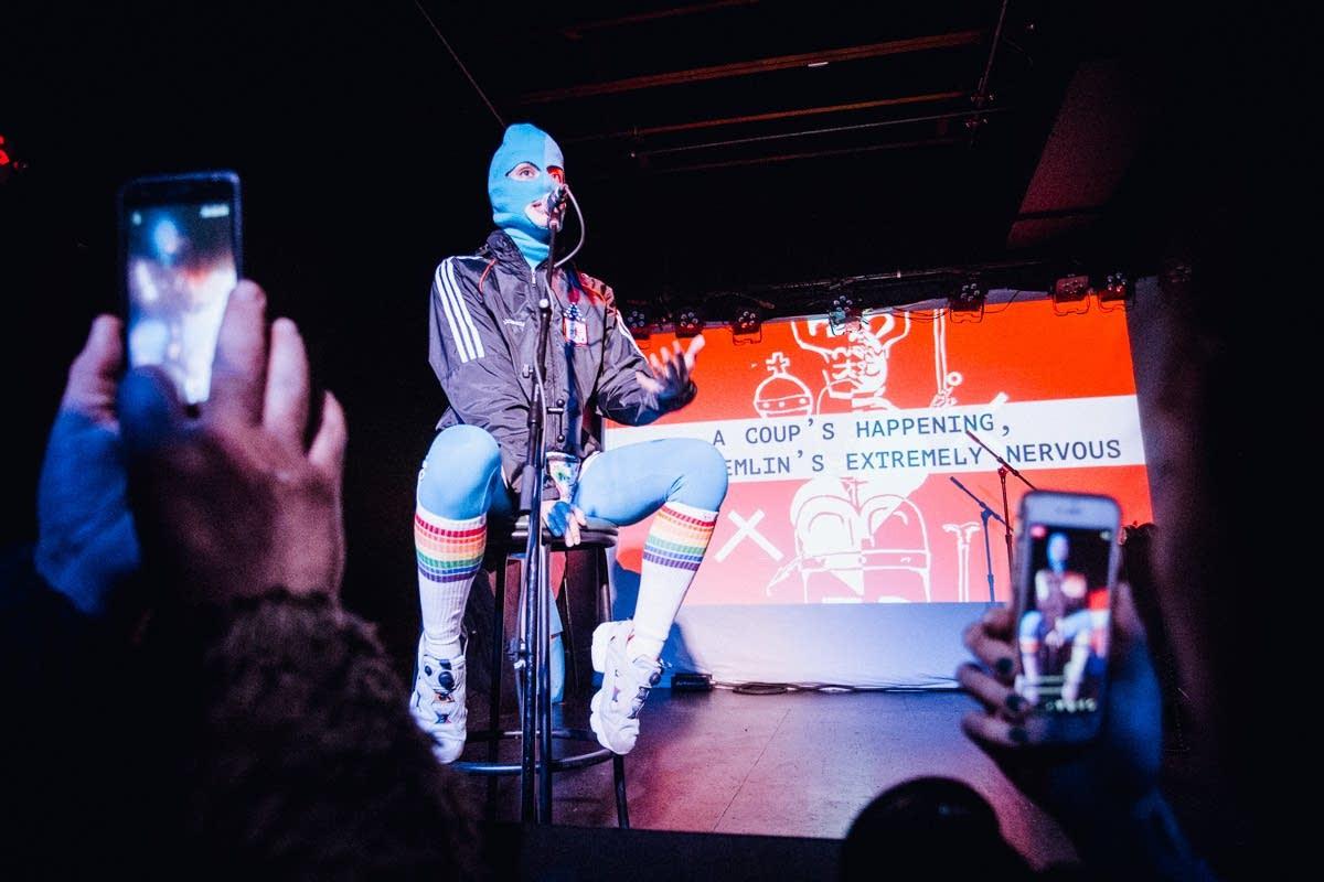 Pussy Riot's Nadya Tolokonnikova at the Turf Club