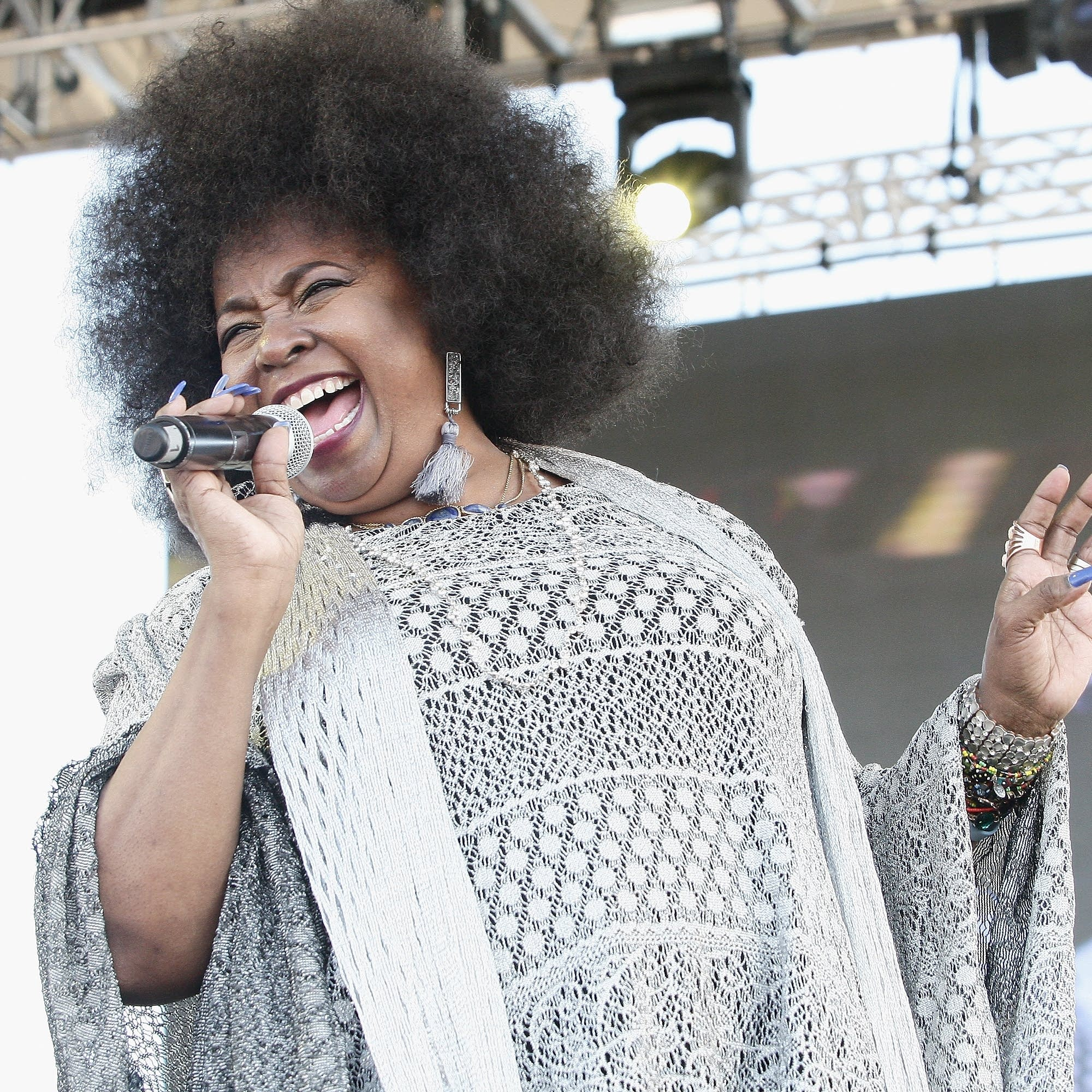 Betty Wright performs in Florida, 2017.