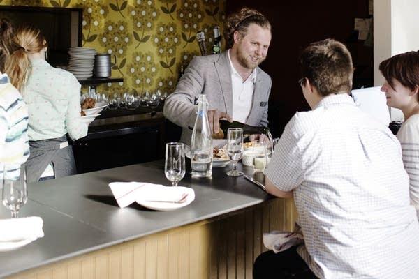 Nick Rancone at the Revival Restaurant