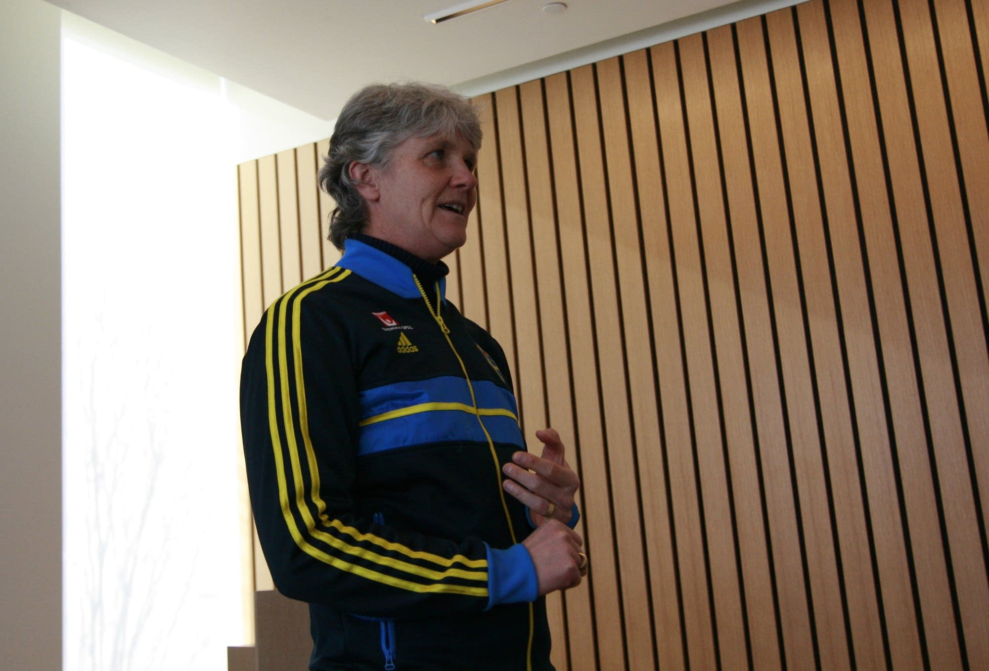 pia sundhage speech