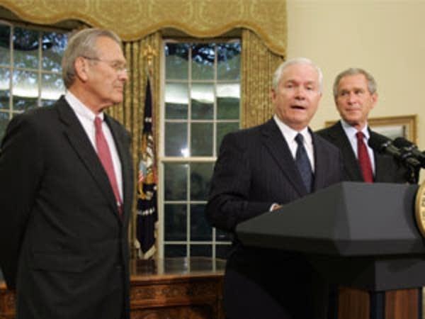 Rumsfeld resigns