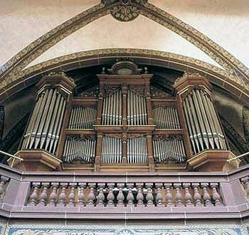 1900 Walcker organ at the Evangelical Church, Essen-Werden, Germany
