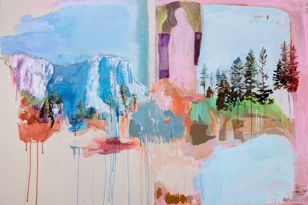 'Unrolling the landscape' by Toni Gallo
