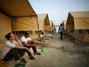 Morning at the MSF hospital in South Sudan.