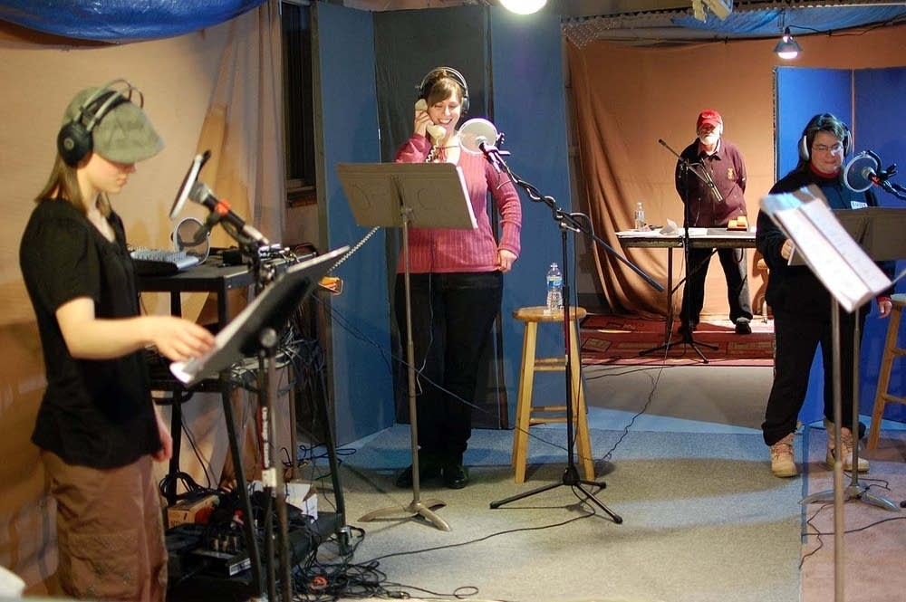 The Icebox Radio Theater cast