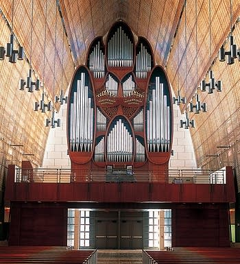 2002 Ruffatti organ at the Church of the Epiphany, Miami, FL