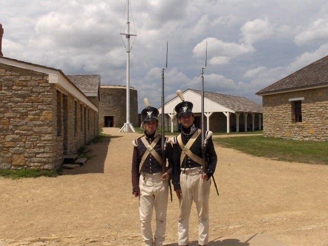 Gaurding the fort
