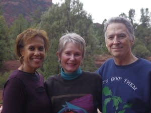 Portia Ramos (left), Jawn McKinley (center) and John Neville (right)