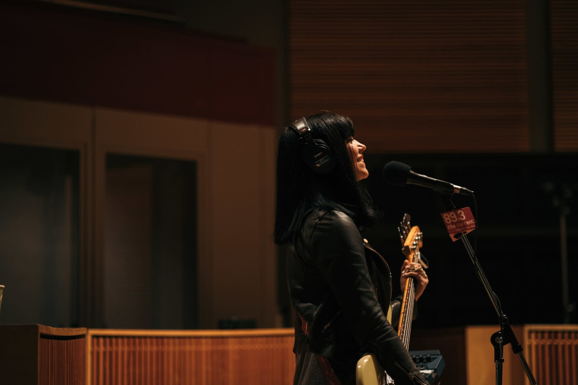 Khruangbin perform in The Current studio