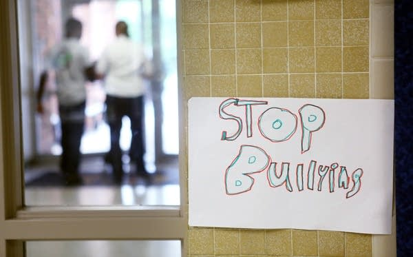 Anti-bullying sign